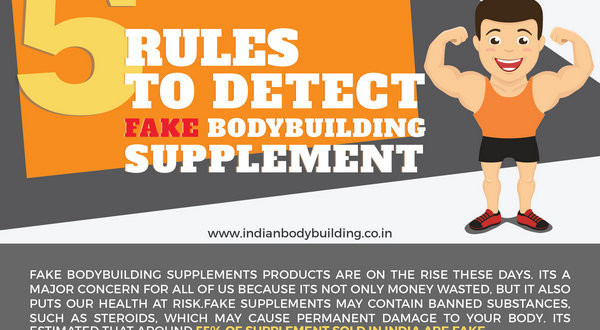 5 Rules to detect fake bodybuilding supplement