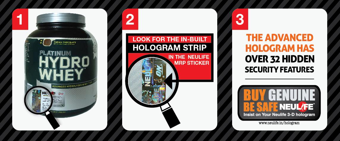 Fake Supplement Hologram