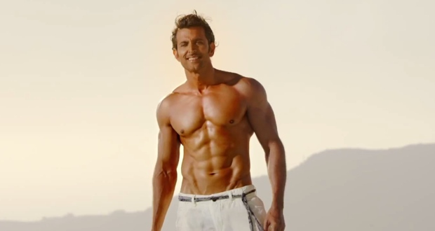 Hrithik Roshan's training secrets for ripped muscles and abs in Bang Bang