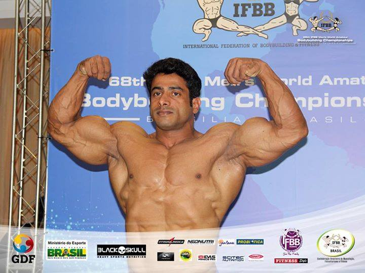 Suhas Khamkar Out of Mr World 2014