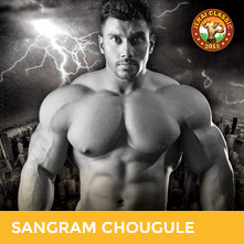 Sangram Chougue at BodyPower Expo