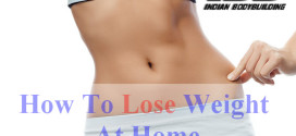 5 Steps To Lose Weight At Home
