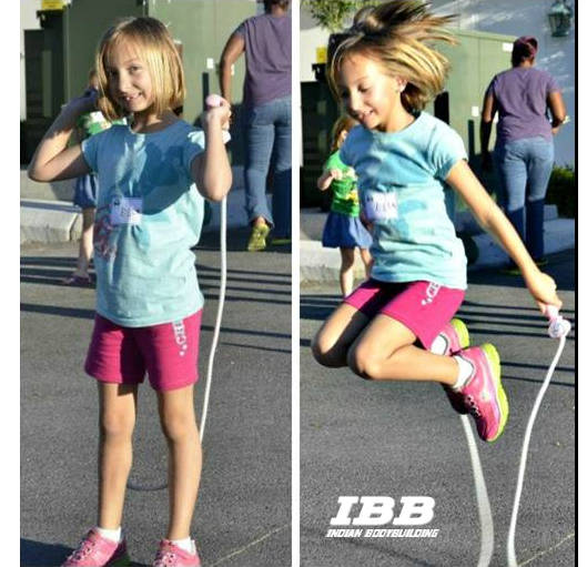 Kids Crossfit wrkout - Jump Ropes