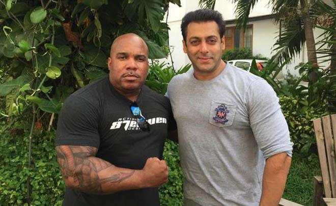 Larnell Stovall and Salman Khan