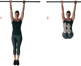 Monkey Bar Hanging for Height