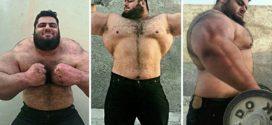 Real Life Hulk From Iran 160 Kg – Sajad Gharibi