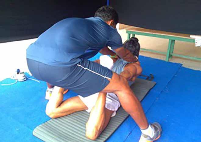 Farhan Akhtar Training