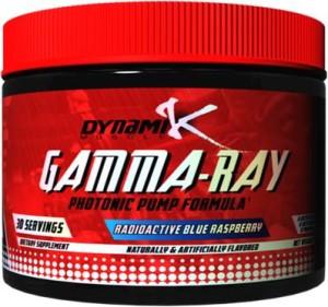 Dynamik Muscle's GAMMA-RAY Photonic Pump Formula