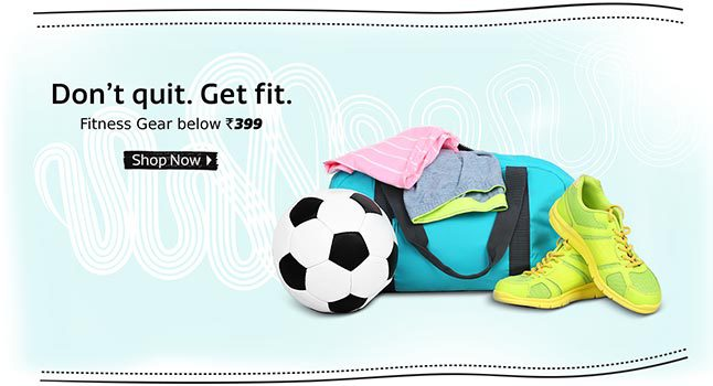 Flipkart Gym Fitness Gear below Rs 399