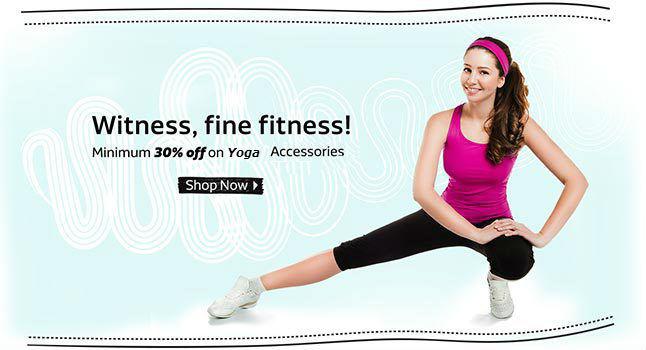 Flipkart minimum discount on fitness accessories
