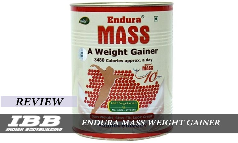 Endura Mass Weight Gainer Review Indian Bodybuilding Products - Top 10 best weight gainer india