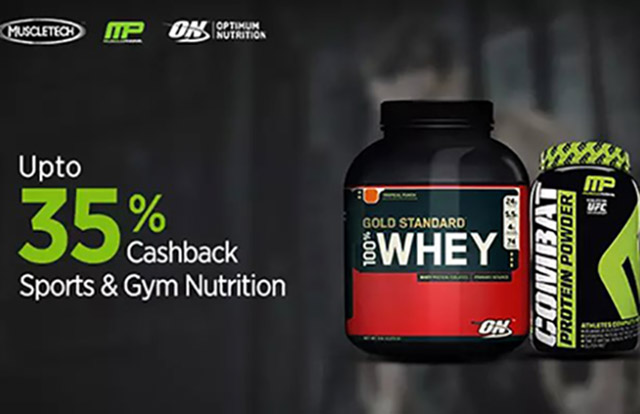 7f63f2669 Upto 35% Cashback on Protein Supplements on Paytm - Indian ...