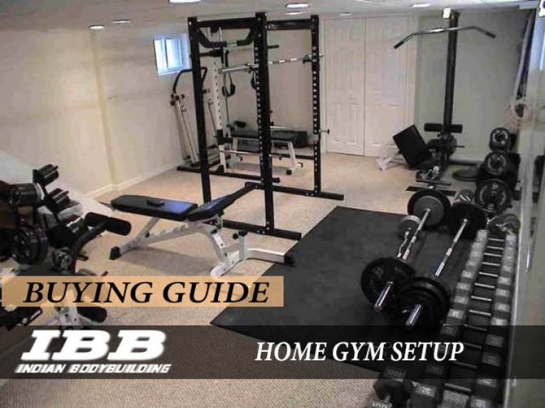 How to set up a home gym in india indian bodybuilding products