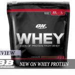 New Optimum Nutrition Whey Protein