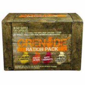 Grenade Ration Pack Multivitamins Probiotics