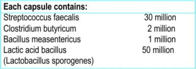 Healthvit Pre-Probiotic Daily Health Ingredients