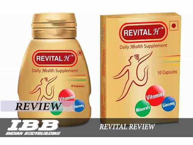 Revital Capsule Review And Price Indian Bodybuilding Products