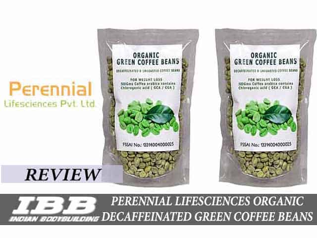 Perennial Lifesciences Organic Decaffeinated Green Coffee Beans