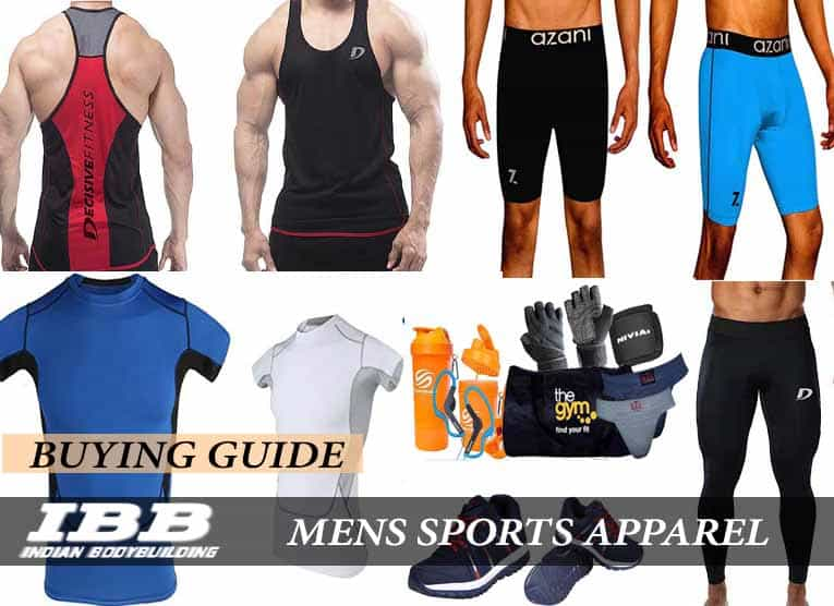 5de007639c Top 10 Trendy Gym or Workout Outfits for Men in India - Indian ...