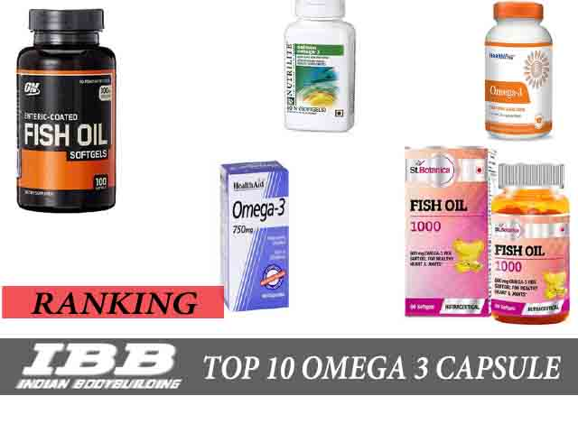 Top 10 best omega 3 capsules fish oil in india indian for Top fish oil brands