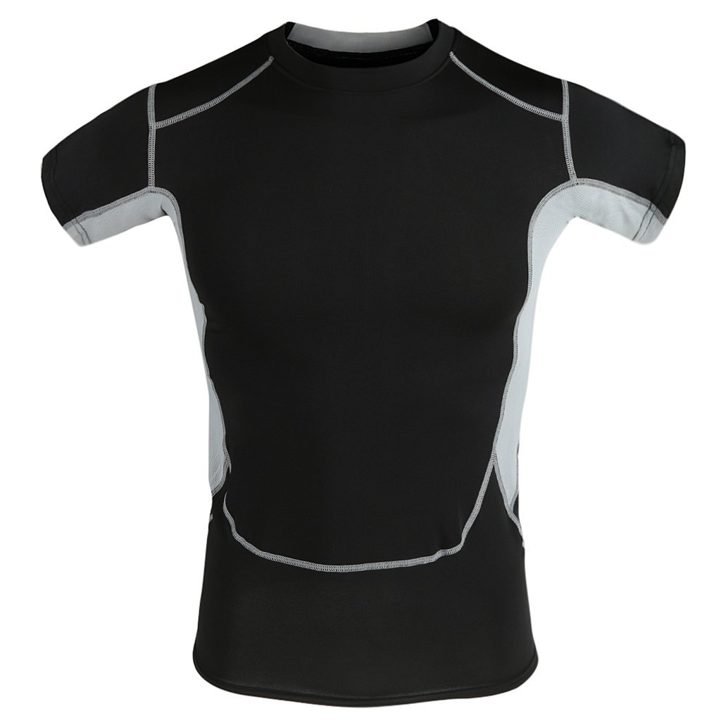 Top 10 trendy gym or workout outfits for men in india for Gym t shirts india