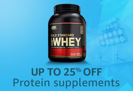 Protein Supplement 25% Off
