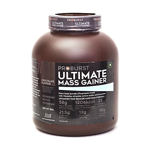 Proburst Ultimate Mass Gainer Review And Price List Indian Bodybuilding Products