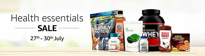 Amazon Health Sale July 2017