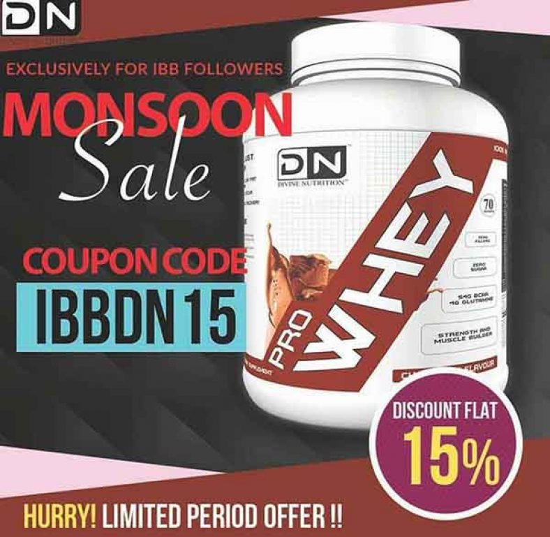 5e51a94fb Divine Nutrition Coupon Code - Flat 15% Off - Indian Bodybuilding Products