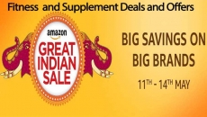 Amazon Great Indian Sale 11 to 14 May 2017 – Fitness and Supplements Deals