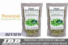 Perennial Lifesciences Organic Decaffeinated Green Coffee Beans for Weight Loss Review