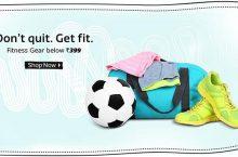 Flipkart – All Gym Fitness Gear Below Rs 399