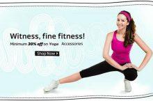 Flipkart – Minimum 30% Discount On Fitness Accessories