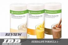 Herbalife Formula 1 Healthy Meal Nutritional Shake Mix Review and Price