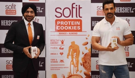 John Abraham reveals about his healthy lifestyle at the launch of Sofit Protein Cookies