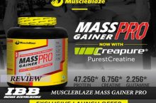 MuscleBlaze Mass Gainer Pro Review