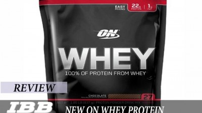 New Optimum Nutrition (ON) Whey Protein Review