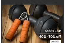 National Sports Day – Grab These Discounts on Fitness Products at Flipkart