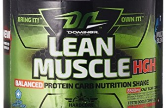 DOMIN8R NUTRITION Lean Muscle HGH Review and Price List