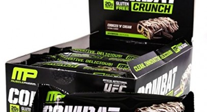 Muscle Pharm Combat Crunch Protein Bar Review and Price List
