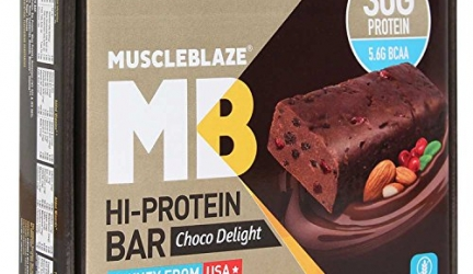 Muscle Blaze HI Protein Bar Review