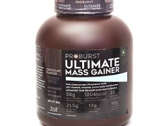Proburst Ultimate Mass Gainer Review and Price List
