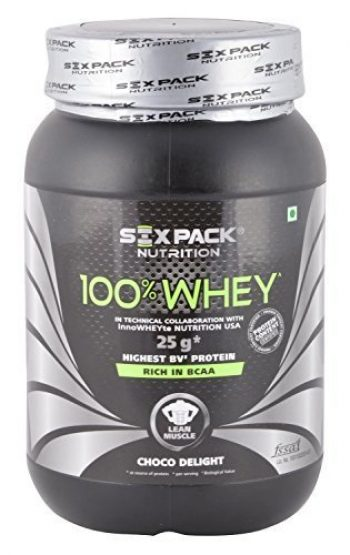 deebde988 Six Pack Nutrition 100% Whey Protein Review and Price List - Indian  Bodybuilding Products