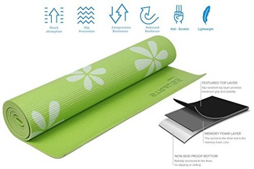 Strauss Yoga Mat Indian Bodybuilding Products