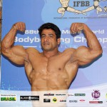 Suhas Khamkar at Mr World 2014
