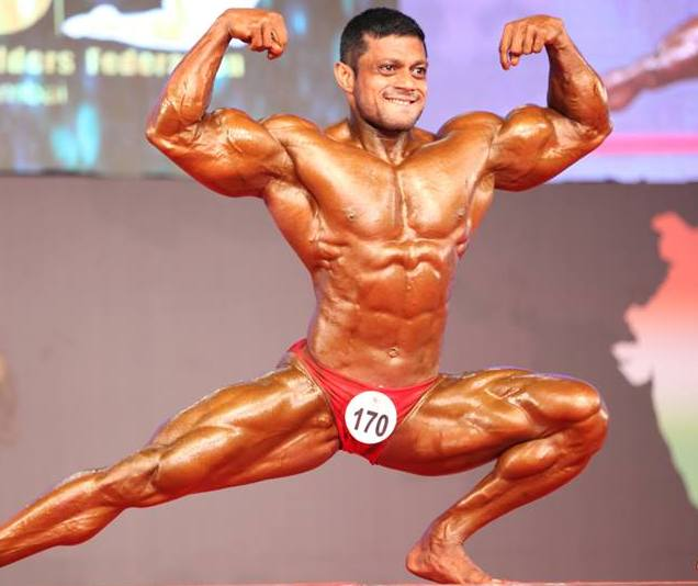 Indian Bodybuilder Anil Gochhikar