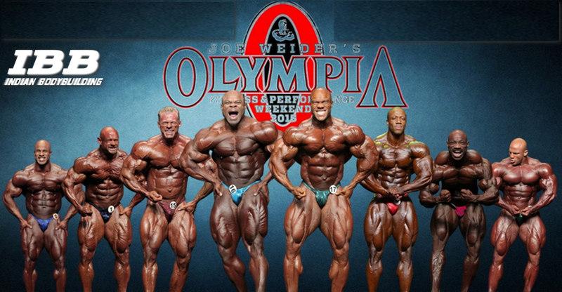 Mr Olympia 2015 Results and Winners - Phil Heath Wins - IBB