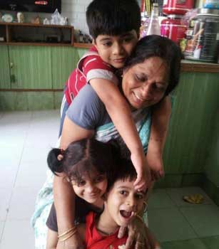 Anil Gochhikar Family