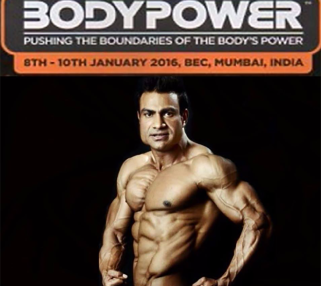 Israr Malik Bodypower Ambassador