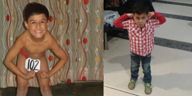 Malik Israr Little Son Posing